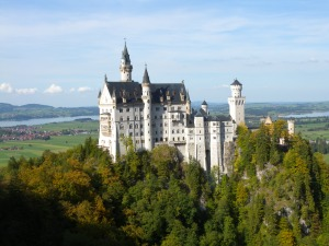 Neuschwanstein Castle outside of Munich