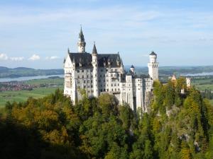Neuschwanstein Castle outside of Munich