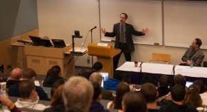 David Waldstreicher lectures on President James Madison, slavery and the Constitution