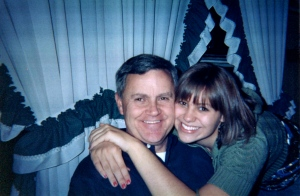 Meaghan MacDonald ('13) and her dad