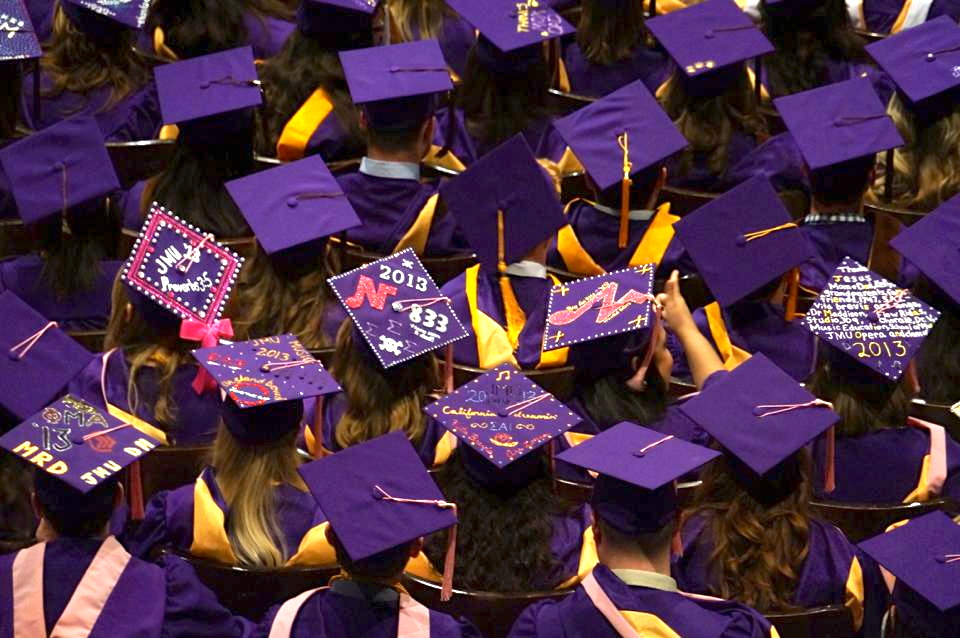 graduation | James Madison University\'s Be the Change