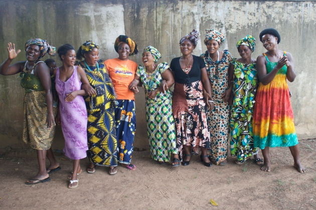 Some of the beautiful Imani women