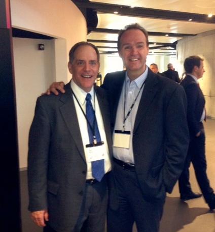 Bob Reid and Mark Thomas