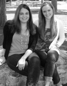 Erin Casey ('13) and Natalie Ball ('13)