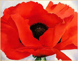 Red Poppy by Georgia O'Keefe