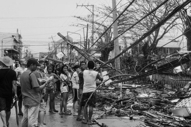 Tacloban in the aftermath of a superstore