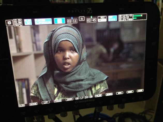 Juweeriya, a 7th grade student, was the first student from Abaarso village to enroll at The Abaarso School of Science and Technology, which draws students from all over Somalia.